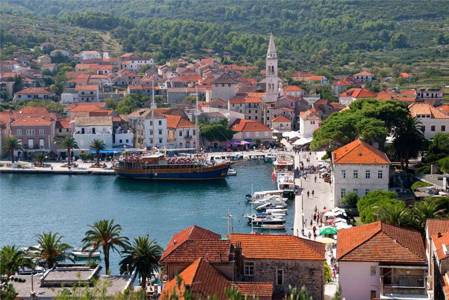 Jelsa Island Hrvar Croatia Travel Croatia Appartments And Villas Croatia Private